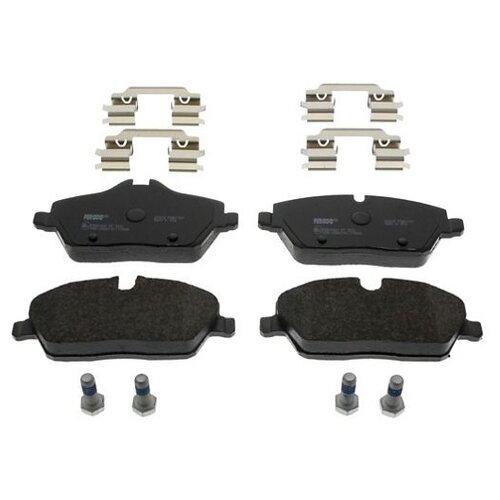 Фото - Дисковые тормозные колодки передние Ferodo FDB1747 для BMW 1 series (4 шт.) дисковые тормозные колодки передние ferodo fdb1639 для toyota subaru 4 шт