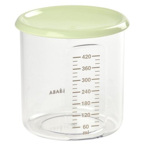 BEABA контейнер для хранения MAXI PORTION 420 мл цвет зеленый недорого
