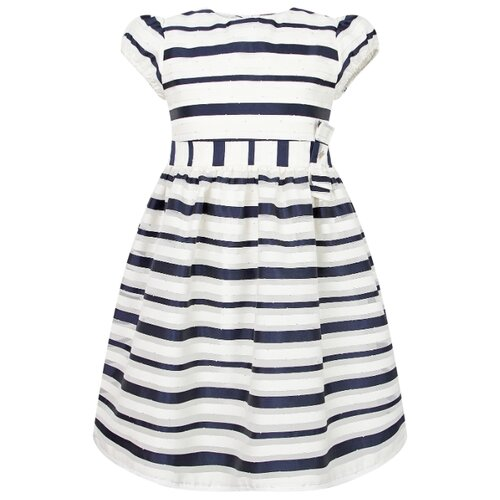 Купить Платье Mayoral размер 122, полоска/синий, Платья и сарафаны