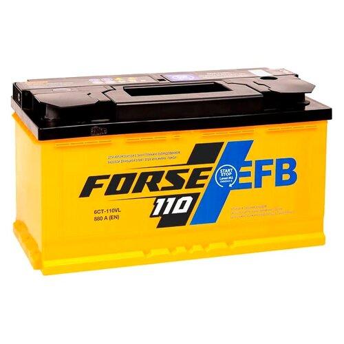 Аккумулятор Forse EFB 6СТ-110VL аккумулятор forse 6ст 65vl jis о п