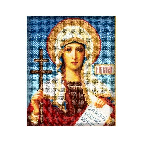 Купить Радуга бисера Набор для вышивания бисером Св. Татьяна 12 х 14.5 см (В317), Наборы для вышивания