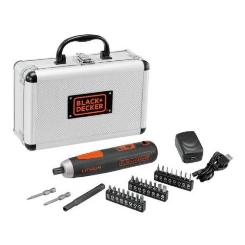 Аккумуляторная отвертка BLACK+DECKER BD40K27A аккумуляторная отвертка black decker cs3651lc