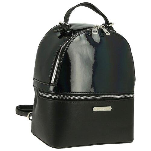 Рюкзак DAVID JONES 5847-1, искусственная кожа, черный цена 2017