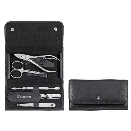 Маникюрный набор INOX, 5 пр., черный набор zwilling j a henckels inox 97507 черный 5 предметов