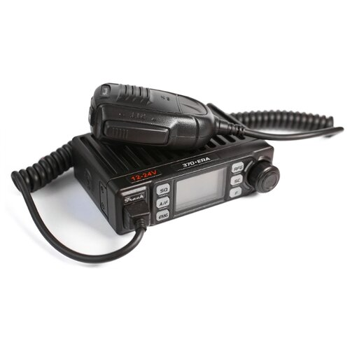 Автомобильная Си-Би радиостанция Track 370-ERA (27 МГц, 8 Вт, 12/24В)