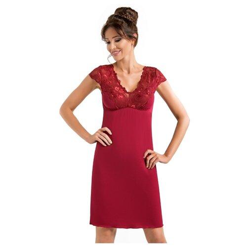 Сорочка Donna, размер M, бордовый сорочка donna размер xxl бордовый