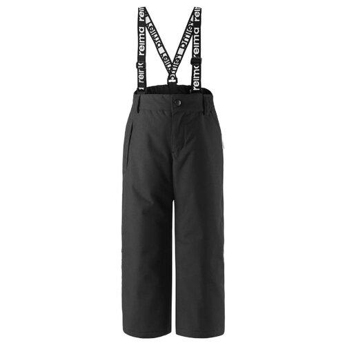 Купить Брюки Reima Loikka 522281 размер 104, 9990 черный, Полукомбинезоны и брюки