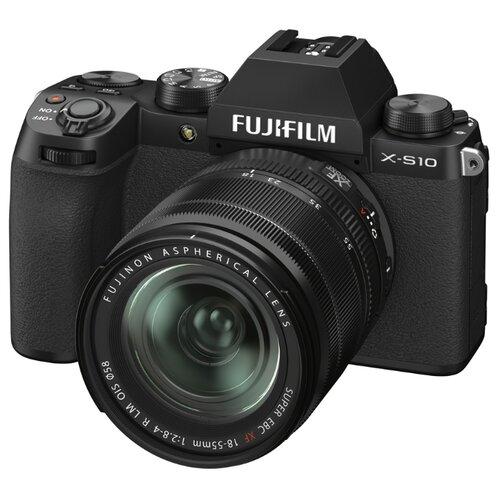 Фотоаппарат Fujifilm X-S10 Kit черный Fujifilm XF 18-55mm F2.8-4 R LM OIS