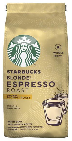 Купить Кофе в зернах Starbucks Blonde Espresso Roast, арабика, 200 г по низкой цене с доставкой из Яндекс.Маркета