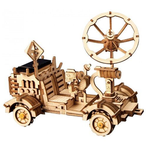 Купить 3D деревянный конструктор Robotime Ровер Рамблер, Сборные модели