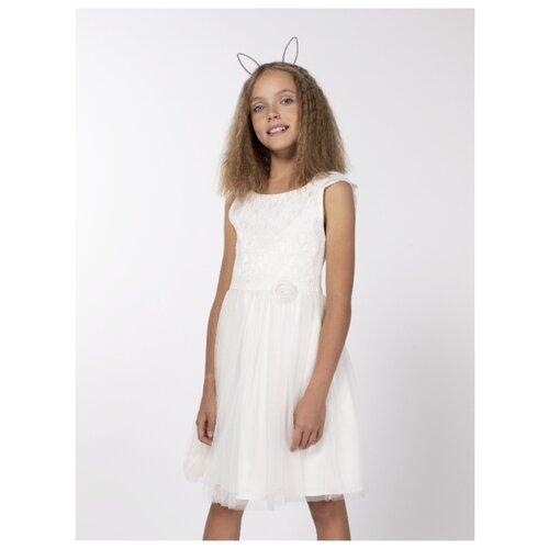 Купить Платье Смена размер 110/56, молочный, Платья и сарафаны