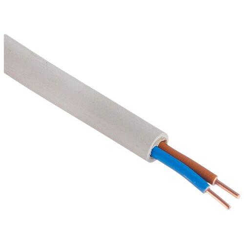 Кабель NYM 2х2.5 кв. мм (50 м) Пан Электрик ГОСТ белый
