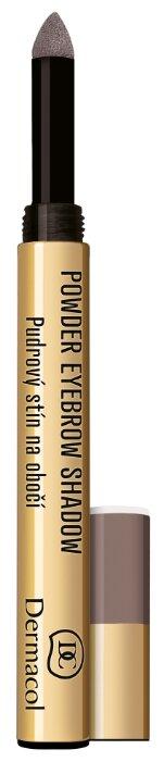 Dermacol Пудровые тени для бровей Powder Eyebrow