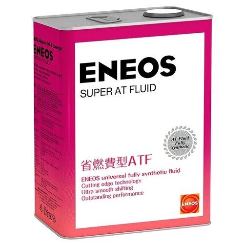 Трансмиссионное масло ENEOS Super AT Fluid 4 л