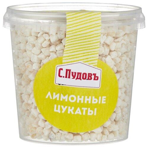 Лимонные цукаты С.Пудовъ резаные, 230 г фото