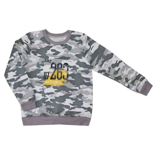 Купить Свитшот KotMarKot Army размер 116, хаки, Толстовки