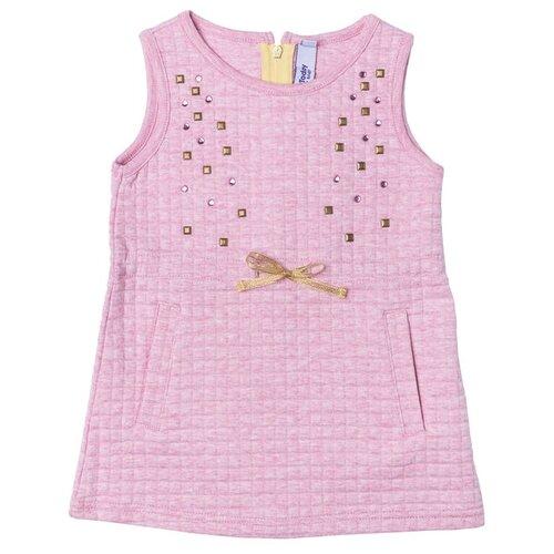 Сарафан playToday размер 86, светло-розовый