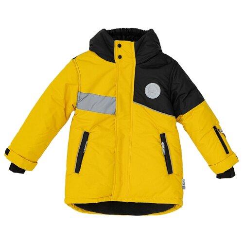 Купить Куртка Button Blue Active 220BBBA4501 3700 / 2700 размер 128, желтый, Куртки и пуховики