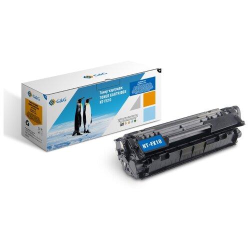 Фото - Картридж лазерный G&G NT-FX10 черный (2000стр.) для Canon L100/L120/4140/MF4380dn/D420/D480 картридж t2 fx 10 для canon mf4018 4120 4140 4270 4660pl 4690pl fax l100 l120 l140 l160 tc cfx10