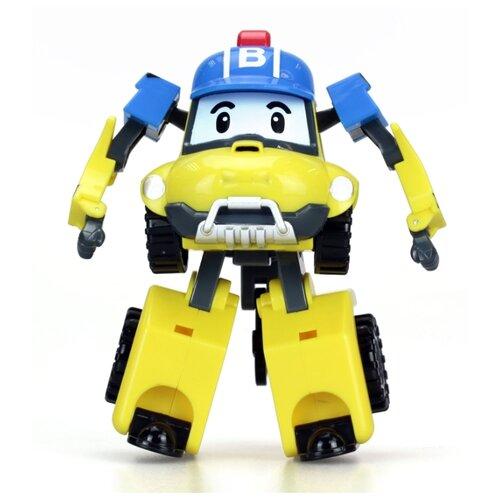Фото - Трансформер Silverlit Robocar Poli Баки желтый/синий робот трансформер silverlit robocar poli поли 7 5 см 83046