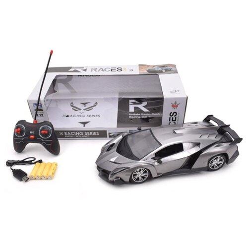 Купить Машина р/у Наша Игрушка 4 канала, свет, аккумулятор, USB шнур (612-14), Наша игрушка, Радиоуправляемые игрушки