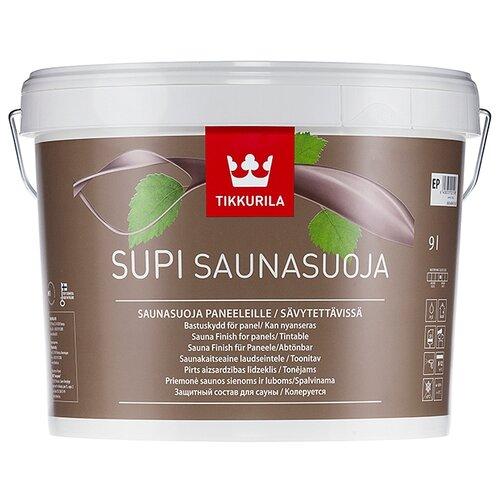 Водозащитная пропитка Tikkurila Supi Saunasuoja прозрачный 9 л