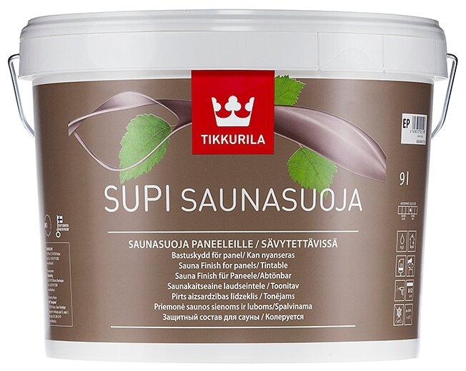 Водозащитная пропитка Tikkurila Supi Saunasuoja