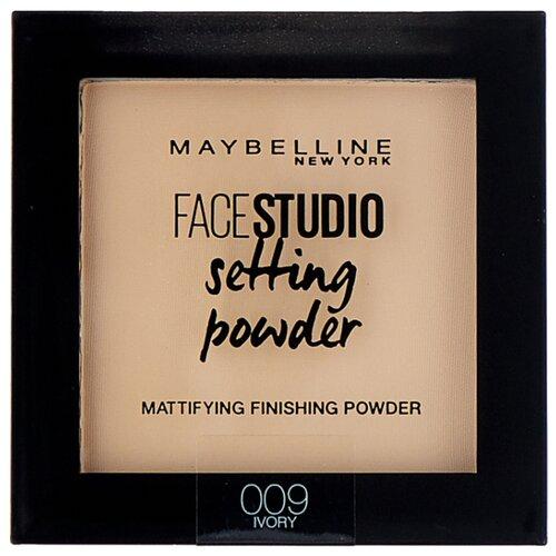 Maybelline New York Face Studio пудра компактная Setting Powder матирующая фиксирующая 009 ivory