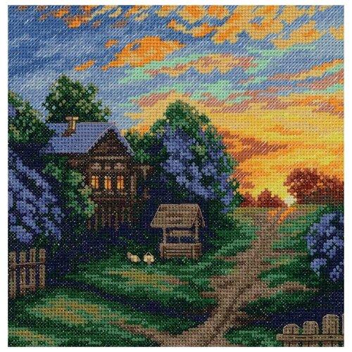 Купить PANNA Набор для вышивания Весенние краски 16, 5 x 16, 5 см (ПС-7163/PS-7163), Наборы для вышивания