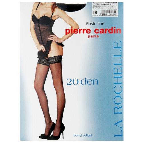 Чулки Pierre Cardin La Rochelle, Basic Line 20 den, размер III-M, nero (черный) чулки pierre cardin la rochelle basic line 20 den размер iv l nero