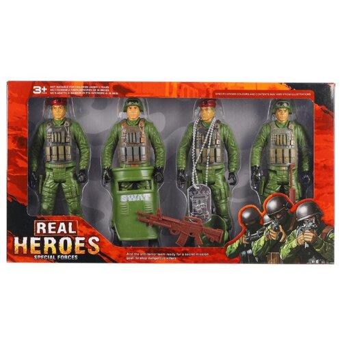 Купить Набор фигурок Shantou Gepai Real Heroes 88800, Солдатики