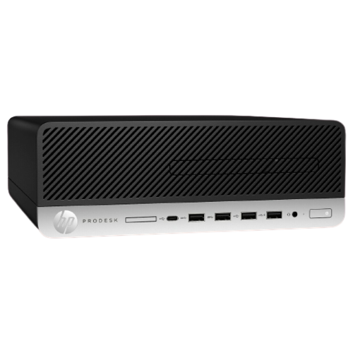Настольный компьютер HP ProDesk 405 G4 SFF (9UG53EA) Slim-Desktop/AMD Ryzen 5 PRO 2400G/8 ГБ/256 ГБ SSD/AMD Radeon RX Vega 11/Windows 10 Pro черный/серый компьютер