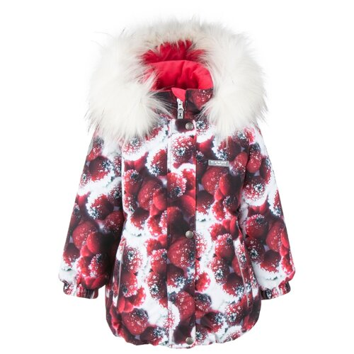 Купить Куртка KERRY Emmy K20431 размер 134, 01877 красный/белый, Куртки и пуховики