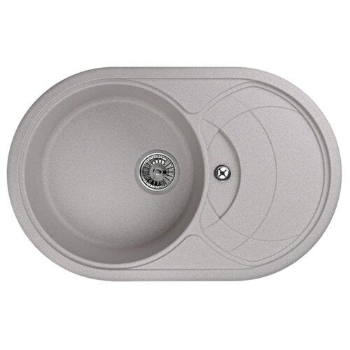 Фото - Врезная кухонная мойка 77.5 см Granula 7801 антик врезная кухонная мойка 57 5 см granula 5802 антик