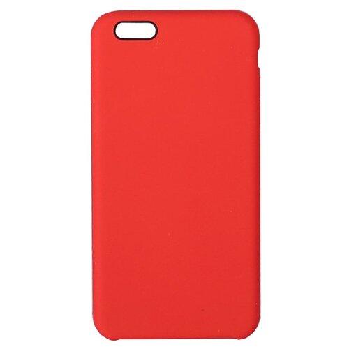 Купить Чехол-накладка LuazON силиконовый для Apple iPhone 6 Plus красный