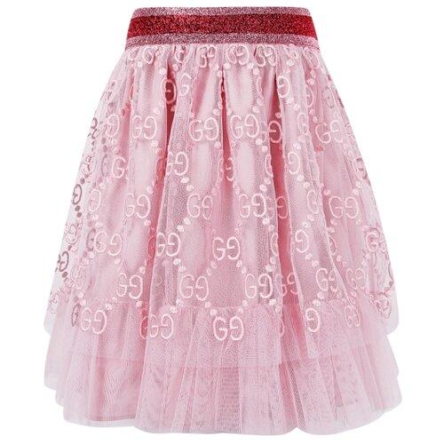 цена Юбка GUCCI размер 86-92, розовый онлайн в 2017 году