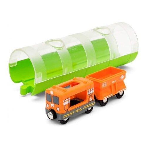 Купить Brio Поездной состав и тоннель, 33891, Наборы, локомотивы, вагоны