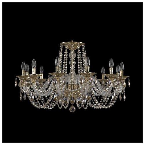 Люстра Bohemia Ivele Crystal Ivele Crystal 16102/12/300 G, E14, 480 Вт абажур bohemia ivele sh22