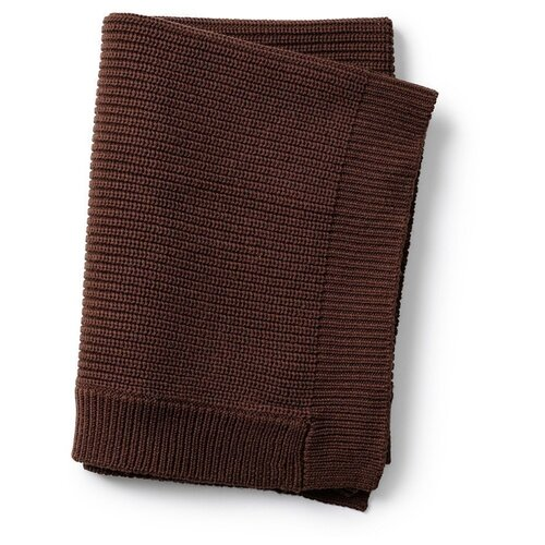 Купить Плед Elodie шерстяной 70х100 см chocolate, Покрывала, подушки, одеяла
