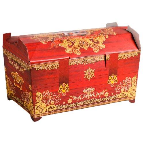 Фото - Коробка подарочная Дарите счастье С Новым Годом! 25 × 15 × 15 см красный подарочная коробка дарите счастье 3122698 складная коробка с днем рождения