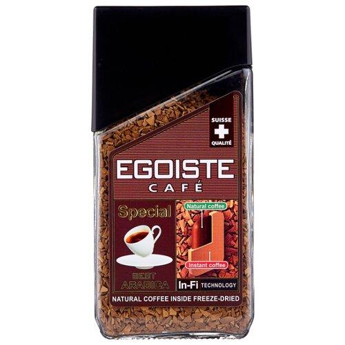 Кофе растворимый Egoiste Special сублимированный с молотым кофе, стеклянная банка, 100 г фото