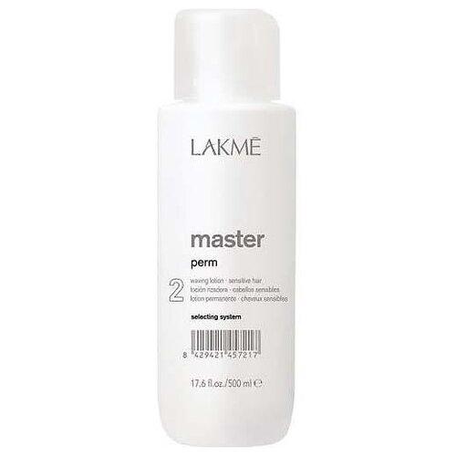 Фото - Lakme Лосьон для завивки окрашенных и ослабленных волос Master Perm Waving Lotion 2, 500 мл lakme master perm selecting system 1 waving lotion лосьон для нормальных волос 500 мл lakme master