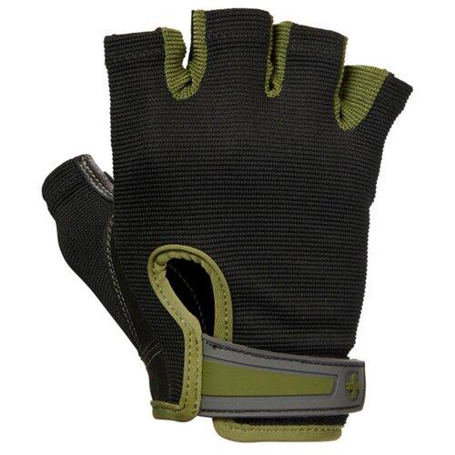 Перчатки Harbinger Power, мужские, зеленые, размер M