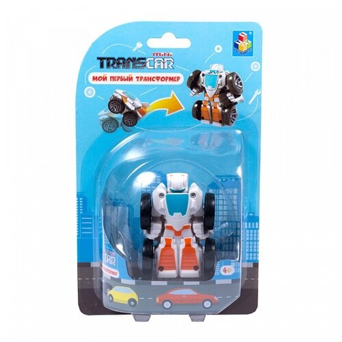 Фото - Трансформер 1 TOY Мой первый трансформер Истребитель Т16515 / Т16517 истребитель белый трансформер 1toy мой первый трансформер суперкар