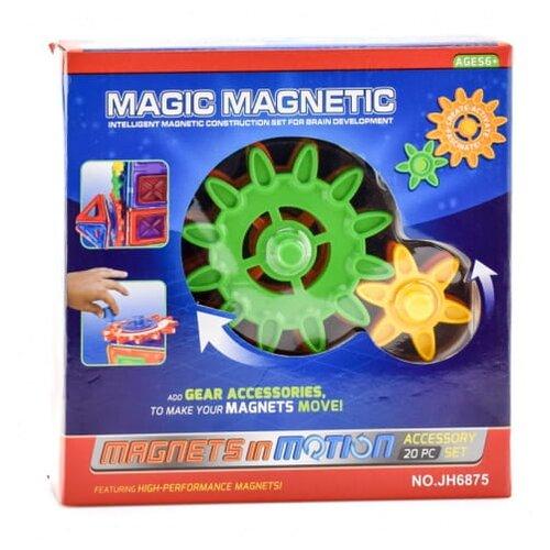 Купить Магнитный конструктор Наша игрушка Magic Magnetic JH6875, Конструкторы
