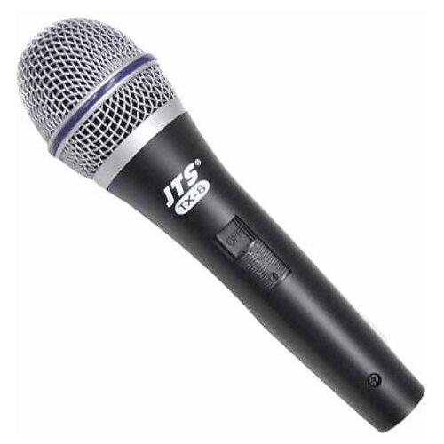 Микрофон JTS TX-8, черный/серебристый