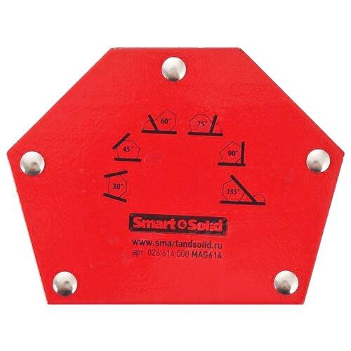 Магнитный угольник Smart & Solid MAG 614 красный магнитный угольник start sm1603 75 lbs красный