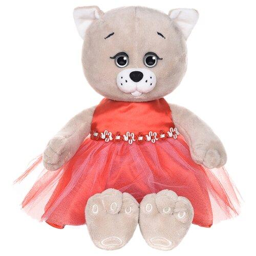 Купить Мягкая игрушка Maxitoys Мышель в красном платье 20 см, Мягкие игрушки