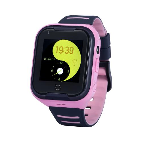 Фото - Детские умные часы c GPS Smart Baby Watch Wonlex KT11 черный/розовый детские умные часы smart baby watch fa27t черный