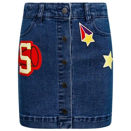 Купить Юбка Stella McCartney размер 116, синий, Юбки